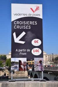 Signboard tempat nak naik cruise. Turun tangga bila Nampak signboard ni.