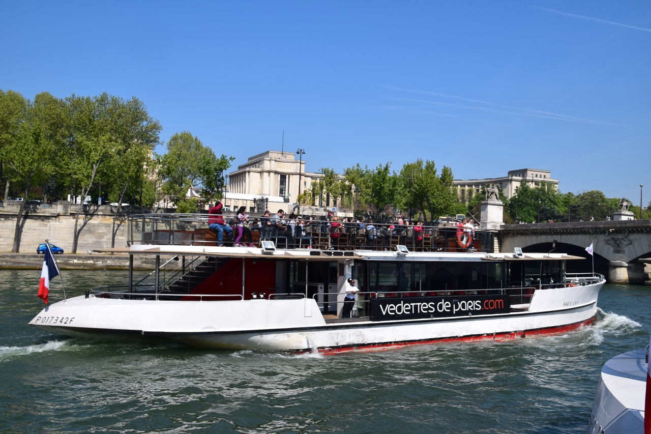 Spring Trip 2015: Paris River Cruise
