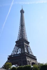 Eiffel Tower dari atas cruise