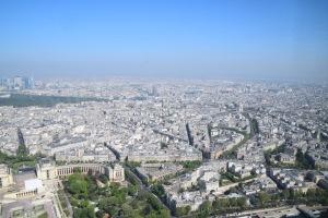 Paris dari atas menara
