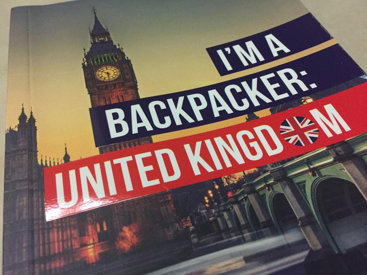 Book Review – I'm A Backpacker: UnitedKingdom